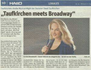 Hallo - Musical Konzert mit Sängerin Lila